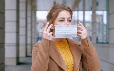 Le masque: à ne pas jeter n'importe où !