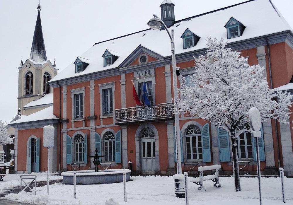 Ville de Séméac - Hautes-Pyrénées - Place de la Mairie