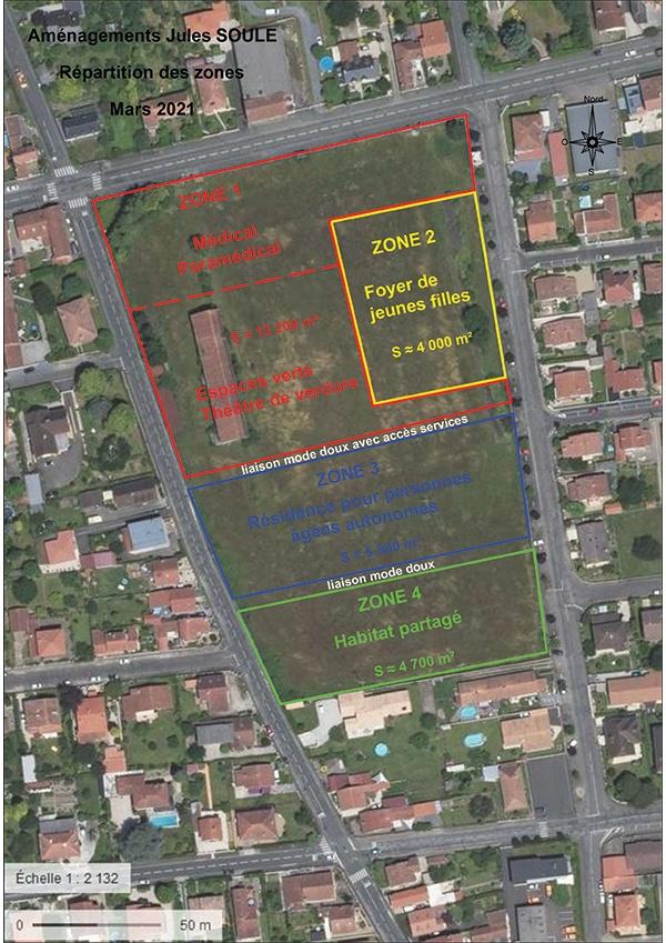 Mairie de Séméac - Solidarité - Plan d'Aménagements Jules Soulé
