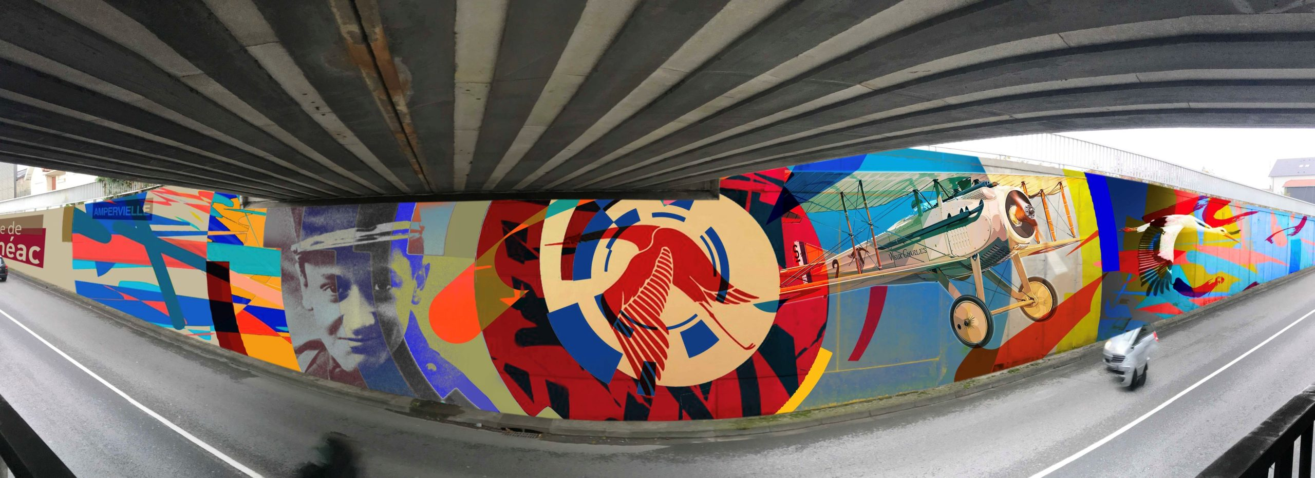 Ville de Semeac, Fresque Alstom